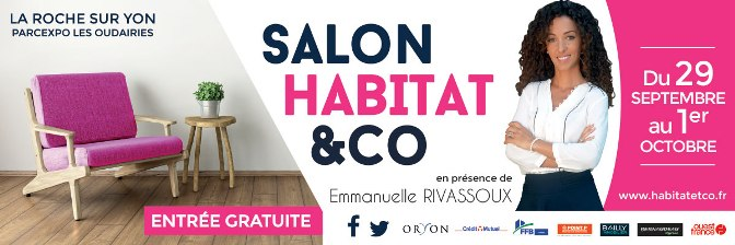 Isolation par l 39 ext rieur en vend e au salon habitat la for Salon habitat la rochelle